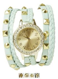 Wrap around watch from Wet Seal