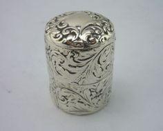 VICTORIAN Silver COTTON/THREAD holder - Gorham c1890 - fine collectable
