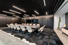 Office Lounge, Office Setup, Corporate Office Decor, Office Interior Design, Office Interiors, Industrial Office, Beautiful Interiors, Interior Architecture, House