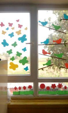 Sınıf pencere süsü