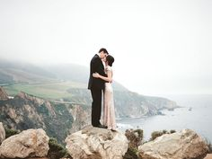 Ashley + Brian's Glam Big Sur Engagement : Faith of Winsome + Wright Photography Co.