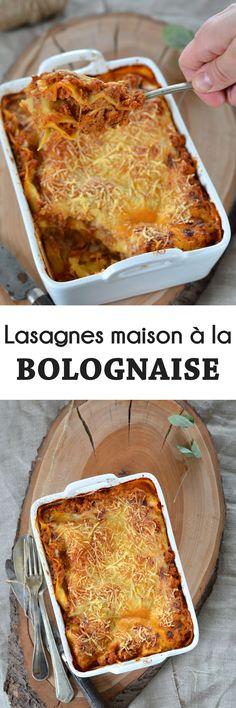 Lasagne maison à la sauce bolognaise, une recette classique, mais une valeur sûre !