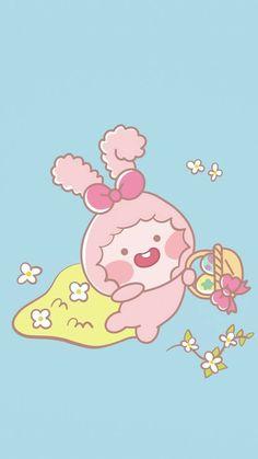 Sanrio Wallpaper, Cute Anime Wallpaper, Cartoon Wallpaper, Apeach Kakao, Kakao Friends, Friends Wallpaper, Line Friends, Softies, Aesthetic Wallpapers