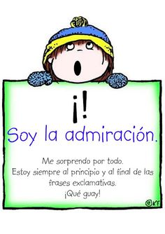 Signos de Exclamación | Punctuation mark in #Spanish