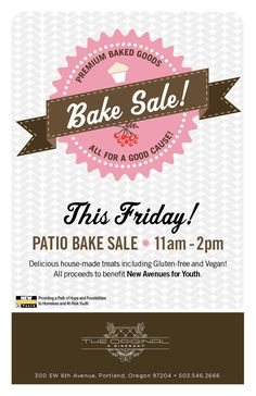 Download this Bake Sale Flyer Template and other free printables ...