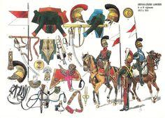 Bonjour à tous, Je recherche des images de lanciers léger français date 1811 et plus particulièrement le 5 ème régiment. Je recherche le trompette, l'officie