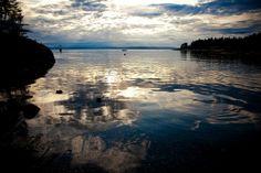 Channel Rock, Cortes Island, British Columbia by kk+, via Flickr