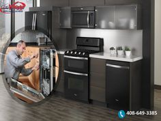 Need refrigerator & washing machine repair service in San Jose California? Work with the appliances repair experts. Call now and get services like never before. Kitchen Cabinets, Kitchen Appliances, Appliance Repair, French Door Refrigerator, San Jose, Schedule, Home Decor, Diy Kitchen Appliances, Timeline