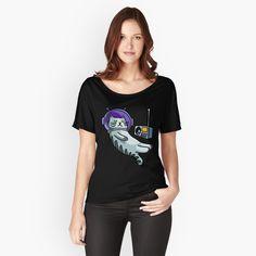 'Ein kleiner roter Panda' Loose Fit T-Shirt von T Shirt Designs, Loose Fit, Elite 3, T Shirt Custom, Retro Birthday, Vintage T-shirts, Trends, My T Shirt, Pulls