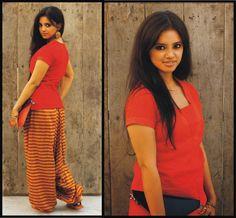 Blog post on Arabian Nights: Red Short Kurti and Harem Pajama... See full post here http://fashionbyruda.blogspot.in/2013/10/arebian-nights-red-short-kurti-and.html