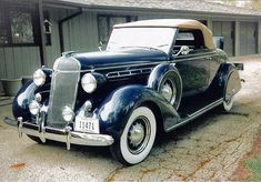 1936 Chrysler Airstream Roadster...lots of extras, note the rumble seat...