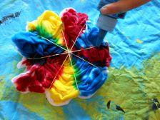 Tie Dye Patterns and Techniques Tie Dye Crafts, Diy And Crafts, Crafts For Kids, Tiy Dye, Tie Dye Party, Tie Dye Techniques, How To Tie Dye, Tie Dye Shirts, Tie Dye Patterns