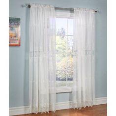 Commonwealth Habitat Annamaria Tailored Curtain Panel Off White - 23405595002