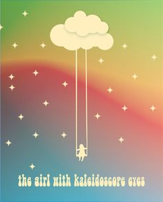 Lucy in the Sky with Diamonds / The Beatles - Music Lyric art poster…