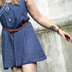 Sommerkleid A-Schnitt