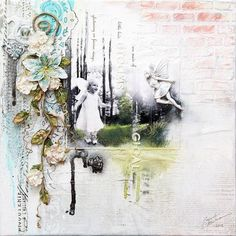 Layout using new Prima resins by Ingvild Bolme