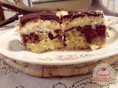 Kókuszos-ananászos krémes Tiramisu, Deserts, Food And Drink, Pie, Ethnic Recipes, Cakes, Torte, Cake, Cake Makers
