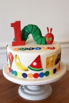 Very Hungry Caterpillar Custom | by Oakleaf Cakes