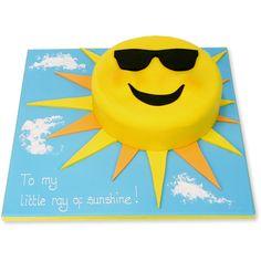 Ray of Sunshine Cake