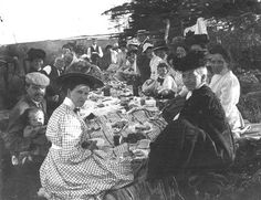 Public Archives and Records Office: Summertime picnic, circa 1910