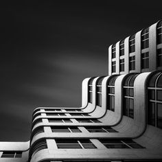 """The Shape of Light XI - The Shell Haus Berlin"" by Joel (Julius) Tjintjelaar"