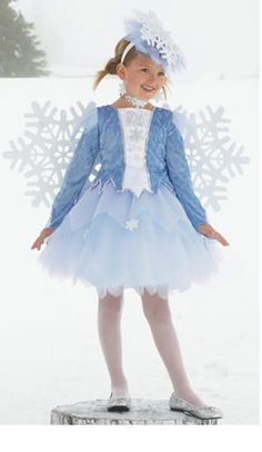 Image result for SNOWFLAKE KIDS COSTUME