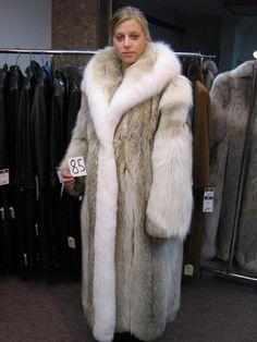 Long Tanuki Fur Coat | Furs &amp Softwear 6 | Pinterest | Coats Fur