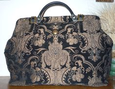 Fabulous Mary Poppins Carpet Bags Handmade Handbags Vintage Purses