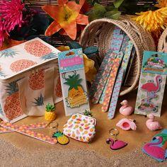 Série d'accessoires sur le thème #tropical disponibles chez #PuckatorFrance