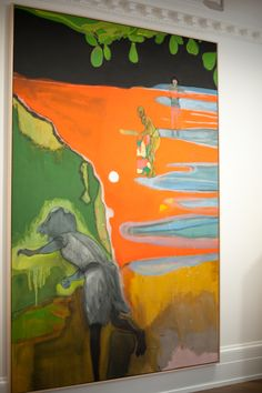 Cricket Painting (Paragrand) Peter Doig 2006-2012 Oil on canvas 300 x 200 cm