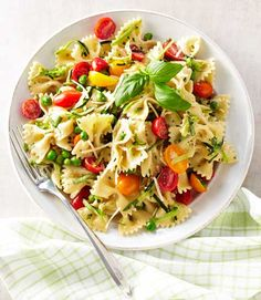 With its tomatoes, zucchini, and basil, this creamy crowd-pleasing pasta salad screams summer. Make it ahead and refrigerate it for up to a day. Get the recipe  - GoodHousekeeping.com