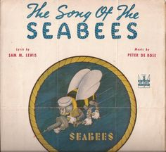 The Song of the Seabees, Vintage Sheet Music, Bureau of Yards and Docks, Join the Navy, Navy Department Propaganda, Military Song by BettywasaBombshell on Etsy