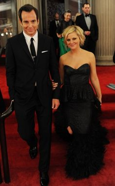 Will Arnett and Amy Poehler, some of my favorite comedians
