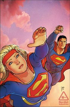 Convergence: Adventures of Superman #1 - Supergirl by Mikel Janin.