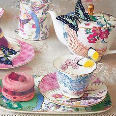 Buy Wedgwood Butterfly Bloom Tableware Online at johnlewis.com