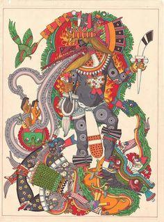 Quetzalcoatl- Ehecatl