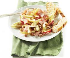 Maaltijdsalade met witlof en ham