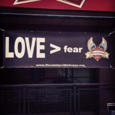 When fitness proves that Love > fear