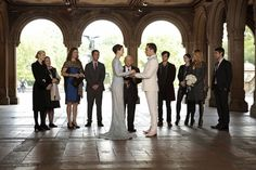See the Pictures From the Gossip Girl Series Finale!: Kelly Rutherford as Lily, Zuzanna Szadkowski as Dorota, Margaret Colin as Eleanor, Desmond Harrington as Jack, Leighton Meester as Blair, Wallace Shawn as Cyrus, Ed Westwick as Chuck, Penn Badgley as Dan, Michelle Trachtenberg as Georgina, Blake Lively as Serena, and Chace Crawford as Nate on Gossip Girl.