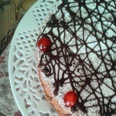 Cherry jam cake