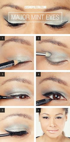 Miley's Major Mint Eye Makeup How-To