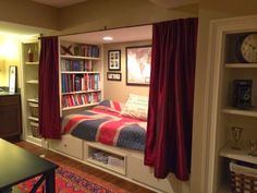 Awesome book nook