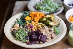 SUPER FOOD BOWLS   CLEAN EATING RECIPE