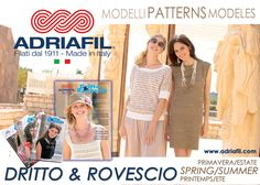 Charming, fanciful, fresh: these are the new models from Adriafil spring/summer collection! Come and discover the brand new magazine Dritto & Rovescio nr. 58 on the website or at your local yarn store! http://www.adriafil.com/it/scheda-rivista.html?id_rivista=58  #magazine #revue #rivista #pattern #adriafil #modelli #modèle #model #tricot #tricoter #knit #knitting #yarn #design #maglia #knitwear #hobby #cotone #spring #summer #collection #primavera #estate #freshness