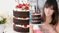A Dani Noce te ensina a preparar um bolo Floresta Negra incrível. Ah, ele também é um naked cake!