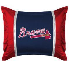 Atlanta Braves Sidelines Shower Curtain