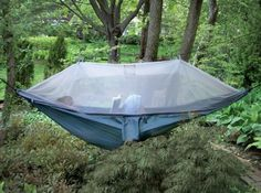 Netted hammock!