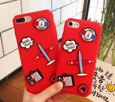 GD Travel to France Case For iPhone 6 6Plus 7 7Plus