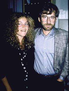 Amy Irving and Steven Spielberg Celebrity Couples, Celebrity Weddings, Amy Irving, Blockbuster Film, Adventure Film, Famous Couples, Steven Spielberg, Celebs, Celebrities