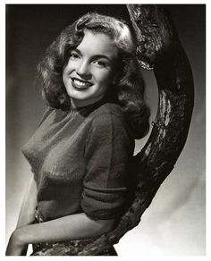 Norma Jeane, 1946 She was still a teen the year I was born.